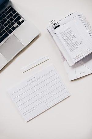 Timeline Checklist